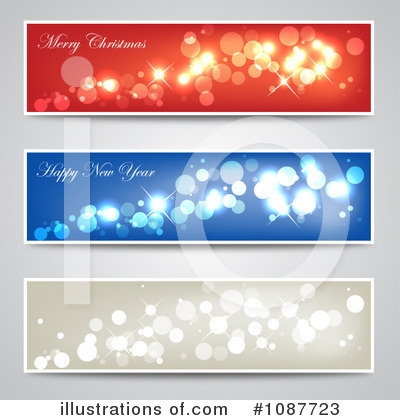Royalty-Free (RF) Website Banners Clipart Illustration by vectorace - Stock Sample #1087723