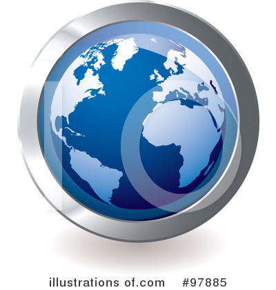 Globe Clipart #97885 by michaeltravers
