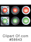 Website Buttons Clipart #58643 by MilsiArt