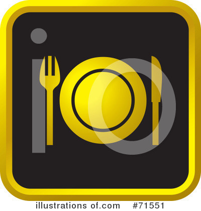 Dining Clipart #71551 by Lal Perera