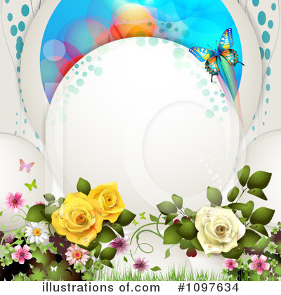 Wedding Background Clipart #1097634 by merlinul