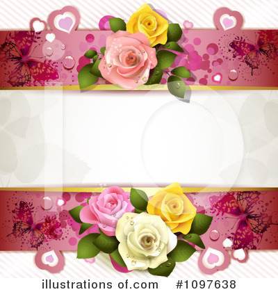 Wedding Background Clipart #1097638 by merlinul