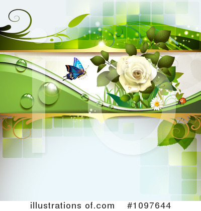 Wedding Background Clipart #1097644 by merlinul
