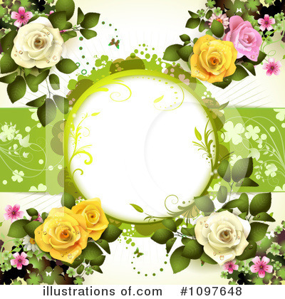 Wedding Background Clipart #1097648 by merlinul