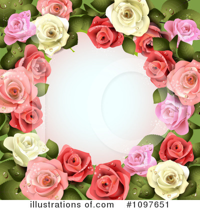 Wedding Background Clipart #1097651 by merlinul