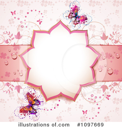 Wedding Background Clipart #1097669 by merlinul