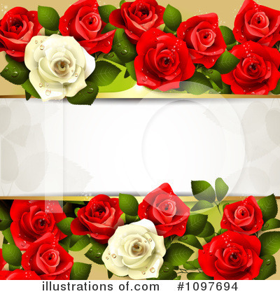 Wedding Background Clipart #1097694 by merlinul