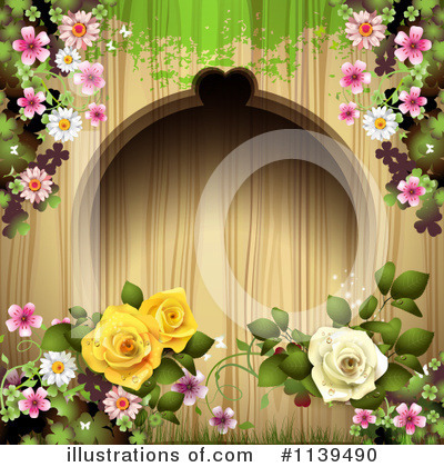 Wedding Background Clipart #1139490 by merlinul