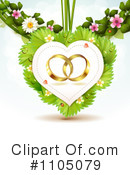 Royalty-Free (RF) wedding bands Clipart Illustration #1105079