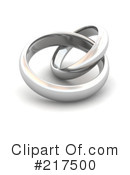 Royalty-Free (RF) Wedding Bands Clipart Illustration #217500