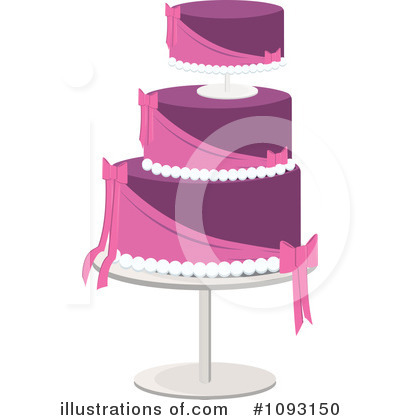 Wedding Cake Clipart #1093150 by Randomway