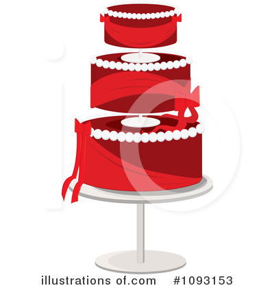 Wedding Cake Clipart #1093153 by Randomway