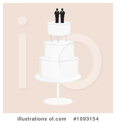 Wedding Cake Clipart #1093154 by Randomway