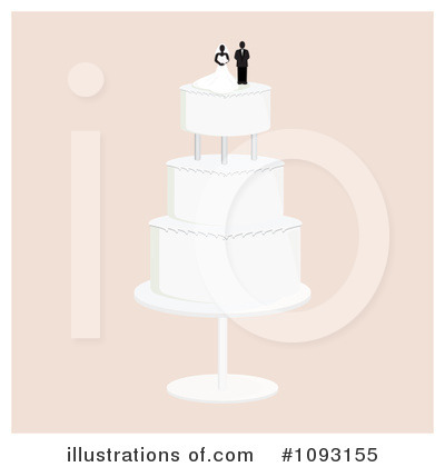 Wedding Cake Clipart #1093155 by Randomway