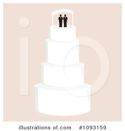 Wedding Cake Clipart #1093159 by Randomway