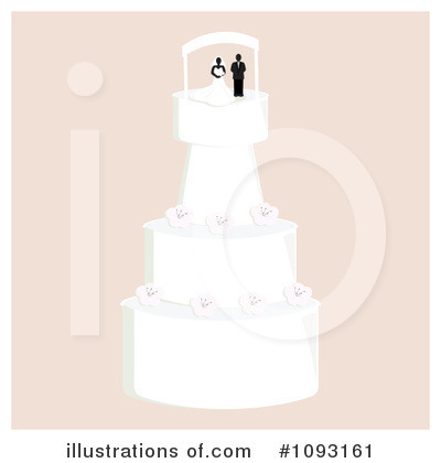 Wedding Cake Clipart #1093161 by Randomway