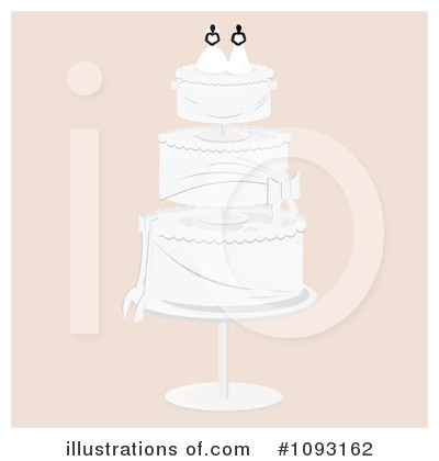 Wedding Cake Clipart #1093162 by Randomway