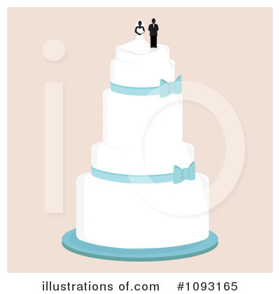 Wedding Cake Clipart #1093165 by Randomway