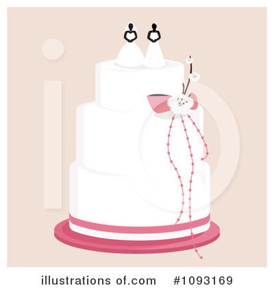 Wedding Cake Clipart #1093169 by Randomway