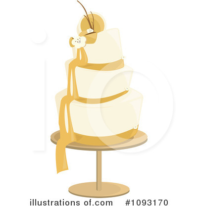 Wedding Cake Clipart #1093170 by Randomway