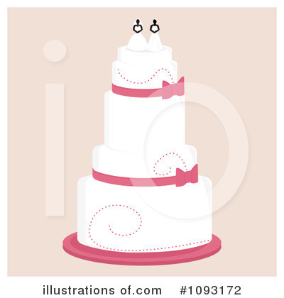 Wedding Cake Clipart #1093172 by Randomway