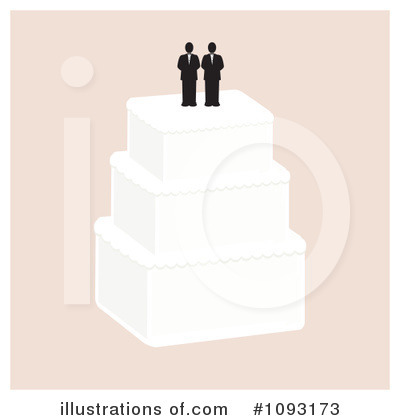 Wedding Cake Clipart #1093173 by Randomway