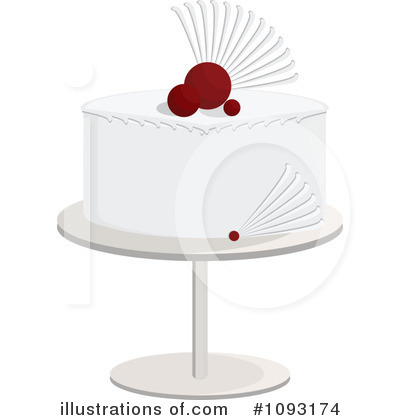 Wedding Cake Clipart #1093174 by Randomway