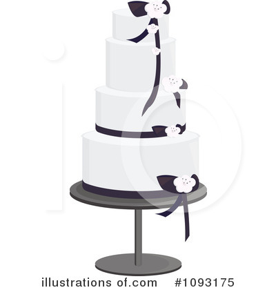 Wedding Cake Clipart #1093175 by Randomway