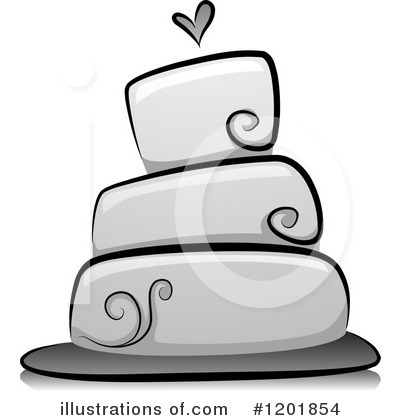 Cake Clipart #1201854 by BNP Design Studio