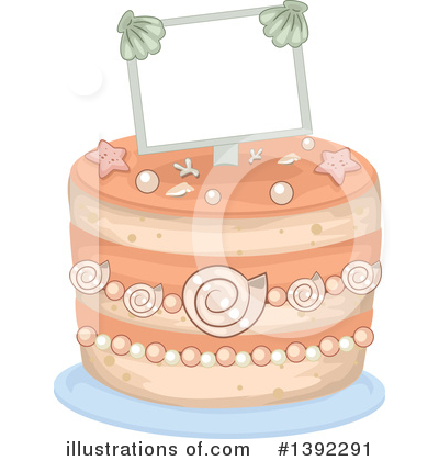 Cake Clipart #1392291 by BNP Design Studio