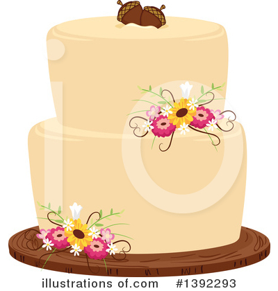 Cake Clipart #1392293 by BNP Design Studio