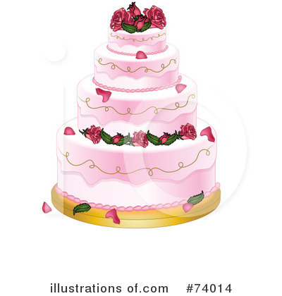 Cake Clipart #74014 by Pams Clipart