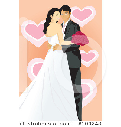Wedding Couple Clipart #100243 by mayawizard101