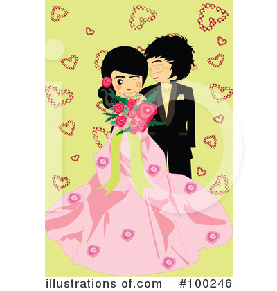 Wedding Couple Clipart #100246 by mayawizard101