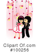 Royalty-Free (RF) wedding Clipart Illustration #100256
