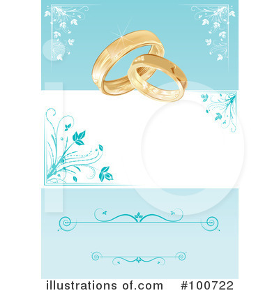 Wedding Rings Clipart #100722 by MilsiArt