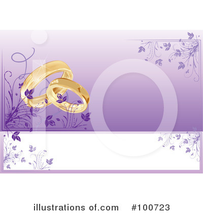Wedding Rings Clipart #100723 by MilsiArt