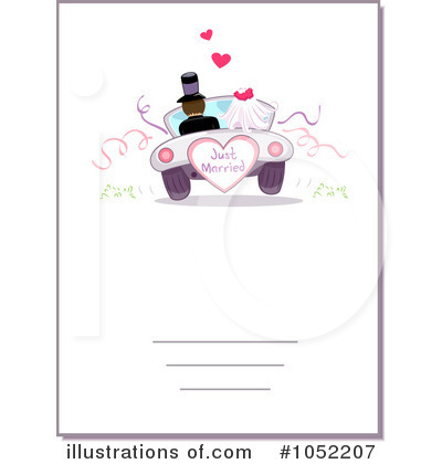 Royalty-Free (RF) Wedding Clipart Illustration by BNP Design Studio - Stock Sample #1052207
