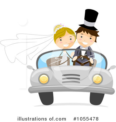 Just Married Clipart #1055478 by BNP Design Studio