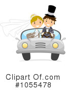 Royalty-Free (RF) wedding Clipart Illustration #1055478