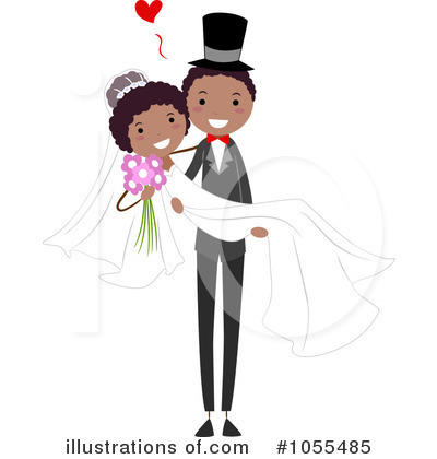 Royalty-Free (RF) Wedding Clipart Illustration by BNP Design Studio - Stock Sample #1055485