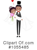Royalty-Free (RF) Wedding Clipart Illustration #1055485