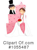 Royalty-Free (RF) Wedding Clipart Illustration #1055487