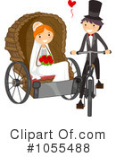 Royalty-Free (RF) Wedding Clipart Illustration #1055488