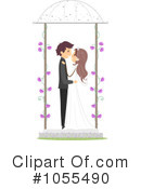 Royalty-Free (RF) wedding Clipart Illustration #1055490