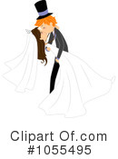 Royalty-Free (RF) Wedding Clipart Illustration #1055495