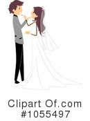 Royalty-Free (RF) Wedding Clipart Illustration #1055497