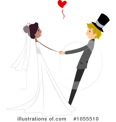 Royalty-Free (RF) Wedding Clipart Illustration by BNP Design Studio - Stock Sample #1055510