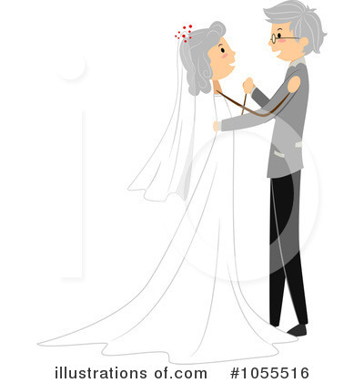 Royalty-Free (RF) Wedding Clipart Illustration by BNP Design Studio - Stock Sample #1055516