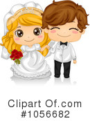 Royalty-Free (RF) Wedding Clipart Illustration #1056682